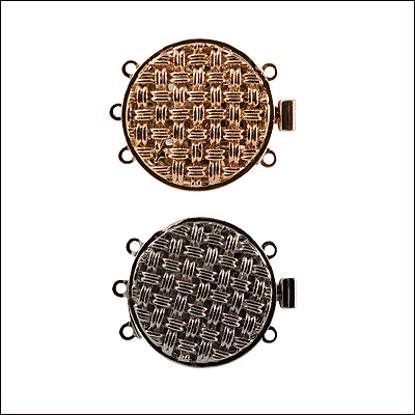 Afbeeldingen van Bakslot 1253/1256 Paladium of Verguld 3 strengen