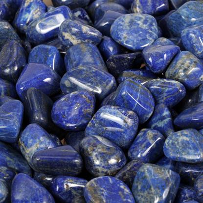 Afbeeldingen van Lapis Lazuli trommelstenen 100 gram