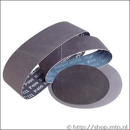Afbeeldingen van Silicium Carbide slijpbanden 200x76mm