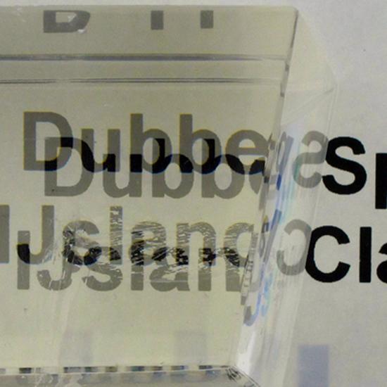 Afbeelding van IJsland Calciet; Dubbelspaat (Eng.: Optical Calcite) gepolijst