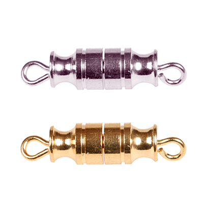 Afbeeldingen van Draaisluiting ton voor colliers, armbanden model 1001/2 (per 10stuks)