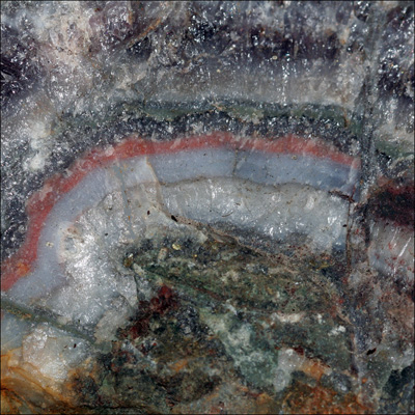Afbeeldingen van Lace Amethist/Agaat ruw, slijpbaar materiaal