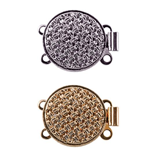 Afbeelding van Bakslot 1233/1236, sluiting voor colliers en armbanden