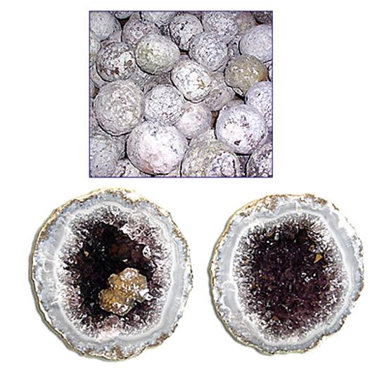 Afbeelding van Mexicaanse kristalbollen, Geoden 5 kilo