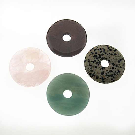 Afbeelding van Edelsteen donut 45 mm