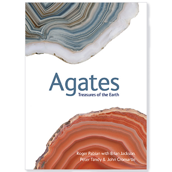 Afbeelding van Agates, Treasures of the Earth; Roger Pabian