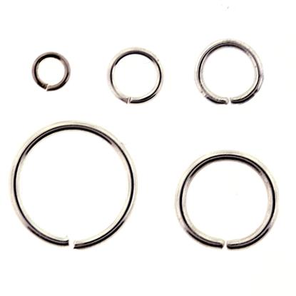 Afbeeldingen van Aanbuig ogen voor Bellcaps 10 mm 100 stuks Vz.