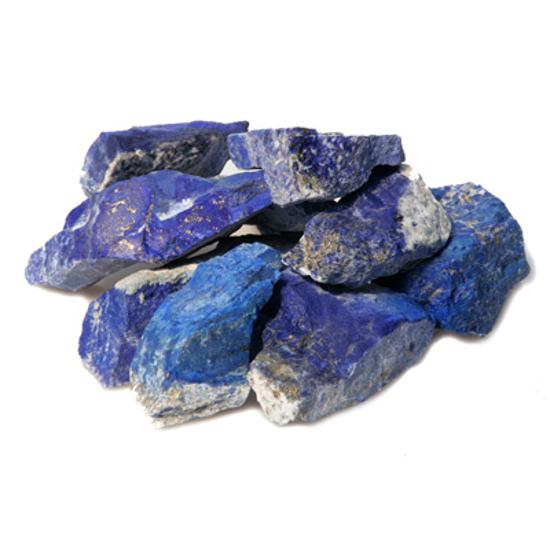 Afbeelding van Lapis Lazuli ruw, onbewerkt; Afghanistan