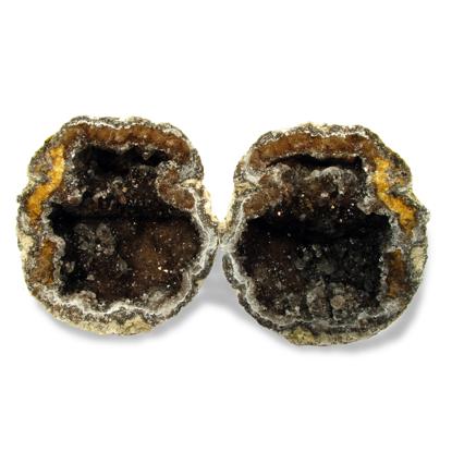 Afbeeldingen van Mexicaanse kristalbol, Geode of Druse