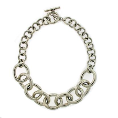 Afbeeldingen van Zilveren collier 'Chara'