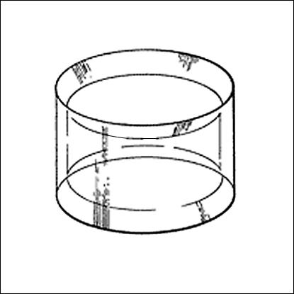 Afbeeldingen van Kunststof Standaard (10st.) voor bollen model R
