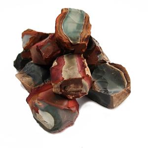 Afbeelding van Polychroom Jaspis brokken Brok Polychroom Jaspis Madagascar