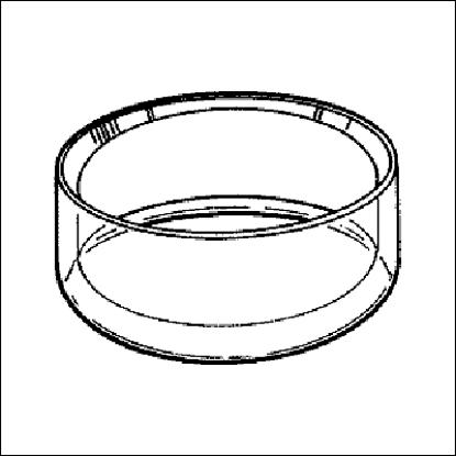 Afbeeldingen van Luxe 'Handmade' acryl ringen model RL