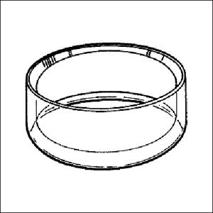 Afbeelding van Luxe 'Handmade' acryl ringen model RL Model RL-9