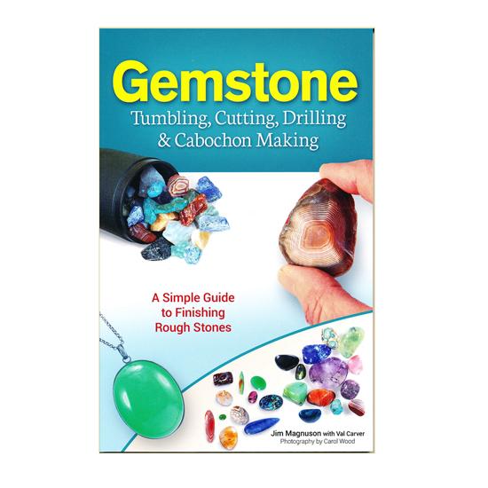 Afbeelding van Gemstone, Tumbling, Cutting, Drilling & Cabochon Making