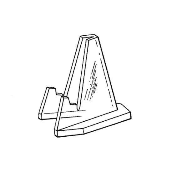 Afbeelding van Kunststof standaard  model DHS