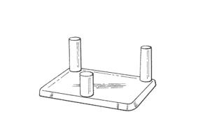 Afbeelding voor categorie Driepoot standaards