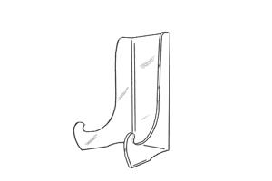 Afbeelding voor categorie Standaards voor grote vlakke platen en/of schijven