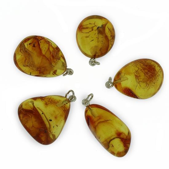 Afbeelding van Barnsteen edelsteen hanger