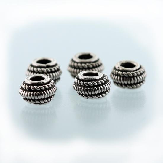 Afbeelding van Zilveren Bali kralen 'Bali-Beads' model ZILBK001