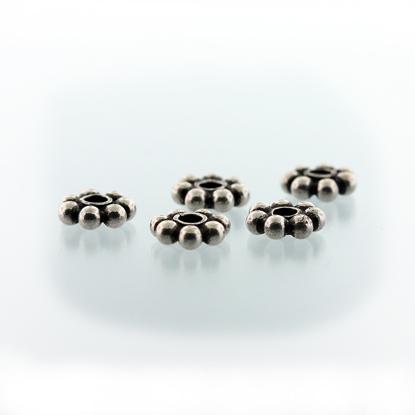 Afbeeldingen van Zilveren Bali kralen 'Bali-Beads' model ZILBK002