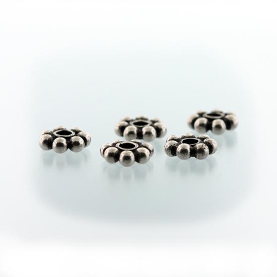 Afbeelding van Zilveren Bali kralen 'Bali-Beads' model ZILBK002