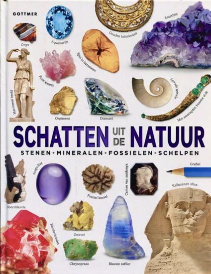 Afbeelding van SCHATTEN UIT DE NATUUR Stenen-mineralen-fossielen-schelpen