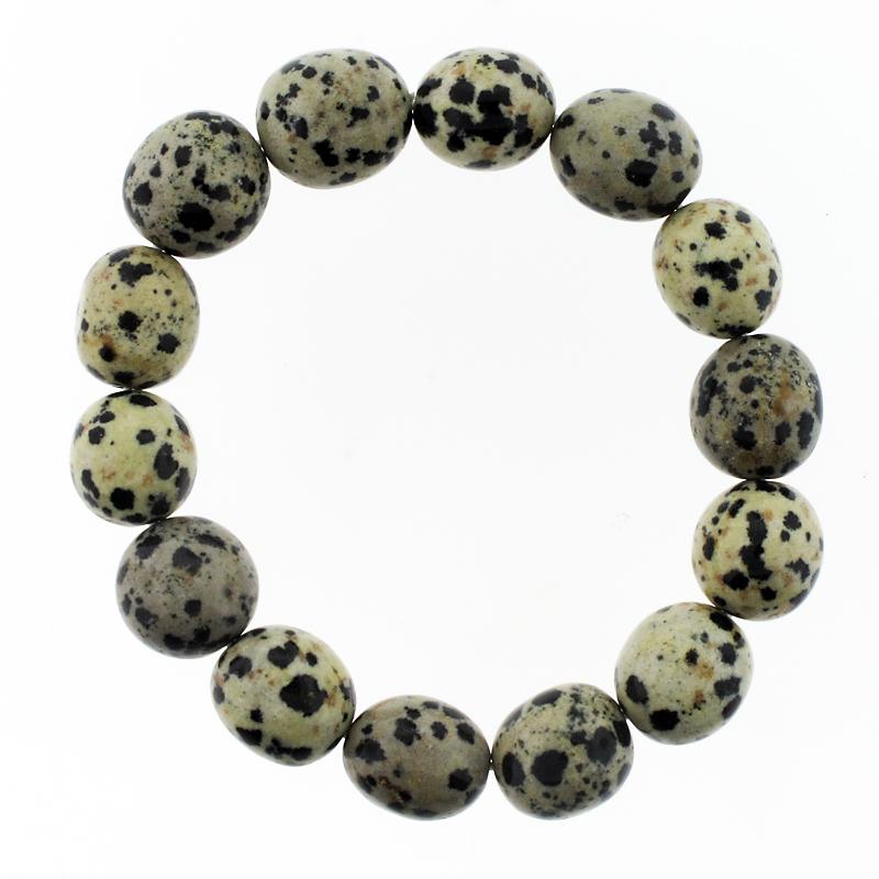 Dalmatier Jaspis Armband MTN-Giethoorn