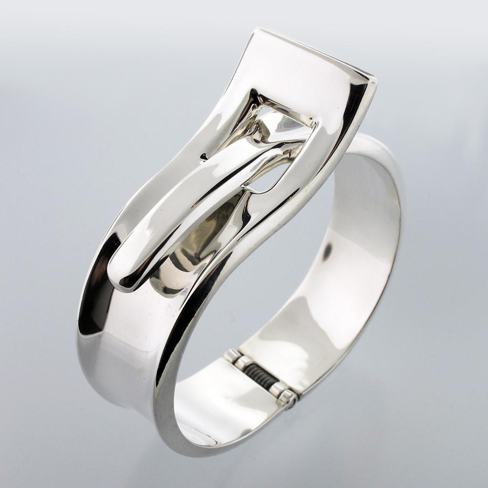 zilveren arnband